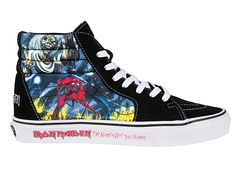 Vans And Iron Maiden Collab For 'Number Of The Beast' Sneakers