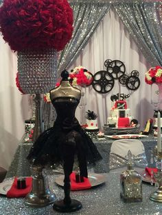 My Little Angel Decorations 's Quinceañera / Hollywood - Photo Gallery at Catch My Party