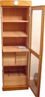 Pienza Oak Cabinet Humidor (300-018)