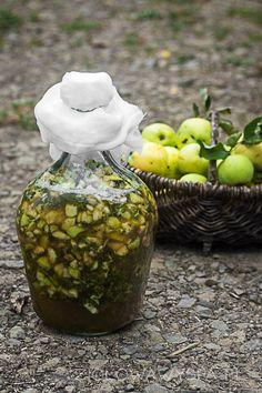 wino ziołowe, bez drożdży winiarskich Irish Cream, Food And Drink, Herbs, Jar, Fruit, Polish, Traditional, Herbal Medicine, Homemade