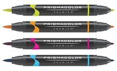 Prismacolor Brush Tip Marker Sets