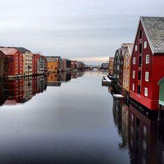 Trondheim - Instagram photo by @steinvidarlill #travel #norway #trondheim