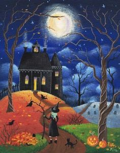 American Folk Art | halloween american folk art