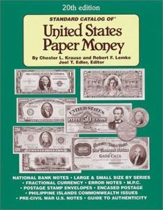 More than 6,000 listings and 15,000 valuations make this the most comprehensive reference catalog devoted exclusively to U.S. currency issues. Collectors get the latest pricing information for all known U.S. paper money printed since 1813. Many items covered in this respected guide are not listed in any other book.