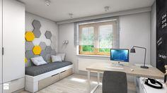 Dom w Przeszowicach - Pokój dziecka, styl nowoczesny - zdjęcie od A2 STUDIO pracownia architektury