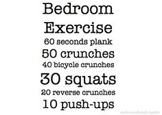 Gotta do this right now before bed. Since J's been home for the past 2 weeks my workouts have gone down hill. Gotta pick up the pace. ~cindy