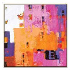 'Awesome' by Catherine Fitzgerald Framed Art Print on Wrapped Canvas Artist Lane Size: H x W x D Motivational Wall Art, Inspirational Wall Art, Painting Frames, Painting Prints, Canvas Paintings, Canvas Frame, Canvas Wall Art, Canvas Size, Framed Art Prints