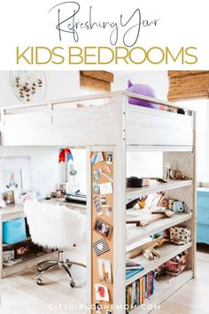 Don't break the bank to do a complete kid's room remodel that will be dated by next year. These tips will easily help you decorate your kid's new space or redecorate and update old bedroom decor! From furniture to decorations, tips and ideas here! Home Renovation, Home Remodeling, Kids Bedroom, Bedroom Decor, Bedroom Ideas, Kids Room Furniture, Bedroom Furniture, Furniture Outlet, Office Furniture