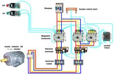 Star delta connection diagram and working principle hameedullah star delta motor starter connection diagram three phase motor cheapraybanclubmaster Gallery