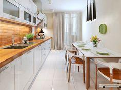 Białe kuchnie wdarły się przebojem do naszych wnętrz i zrobiły niemałe…
