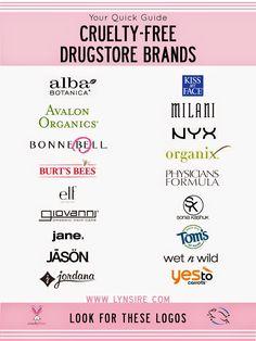 Animal Cruelty Free Makeup Brands
