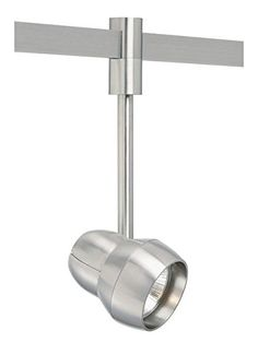 Tech Lighting Om - Single-Circuit T-Trak Incandescent PAR Head, Choose Finish: SN: Satin Nickel Finish, Choose Lamping Option: