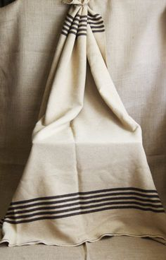 Wool Camp Blanket from John Murray's Summer Camp by susantique, $60.00