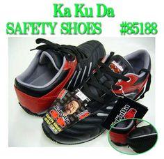 安全靴 スニーカータイプ ジーベック 【角田】 樹脂先芯 黒赤 24〜28cm:楽天