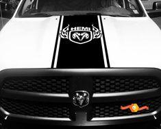 Dodge Ram 1500 2500 Hemi 2 Rear Beds Vinyl Stripes Decals Motocross Rider Bike