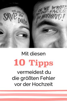 Mit diesen 10 Tipps vermeidest Du die größten Fehler vor der Hochzeit – Teil It's not easy to keep track of your wedding planning – and there are a few fat bowls as well. Here you can see how you can avoid the grossest mistakes. Wedding Games, Wedding 2017, Our Wedding, Dream Wedding, Wedding Ceremony, Wedding Planning Tips, Wedding Tips, Let's Get Married, Diy Wedding Decorations