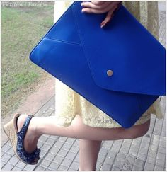 Oversized Simple Envelope Clutch Bag- my style
