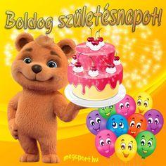 Boldog születésnapot! #születésnap Shrek, Teddy Bear, Toys, Animals, Animales, Animaux, Gaming, Games, Animais