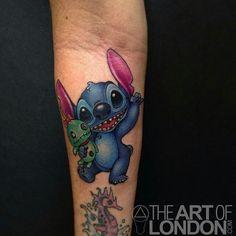 Stitch tattoo