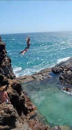 Cliff jumping in Oahu, Hawaii-wont have a pic like this to share. Guaranteed!