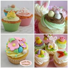 Easter Cupcakes | The photos in my Flickr Faves mosaic are t… | Flickr
