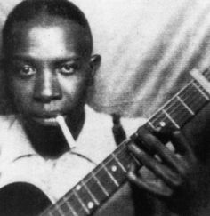 Robert Johnson., I stayed in the hotel , that used to be a hospital , where he died.  Clarksdale, Mississippi
