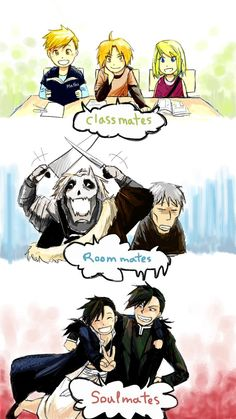 """We are... by warningyou on @DeviantArt - Hahahaha! Greed and Ling are """"soul mates""""! XD"""