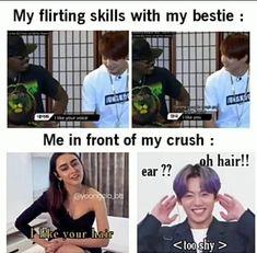Blackpink Funny, Bts Memes Hilarious, Crazy Funny Memes, Really Funny Memes, Funny Facts, Jungkook Funny, Bts Bangtan Boy, Short Meaningful Quotes, Bts Theory