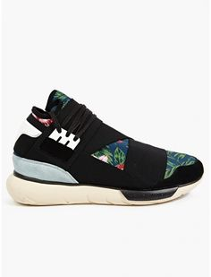 Y-3 Men's Graphic QASA High Sneakers | oki-ni