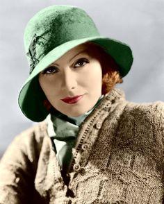 Greta Garbo, The 1920's Look. @designerwallace