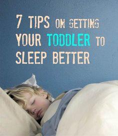 Toddler sleep help
