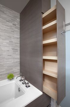 Creative Hidden Storage | South Shore Millwork