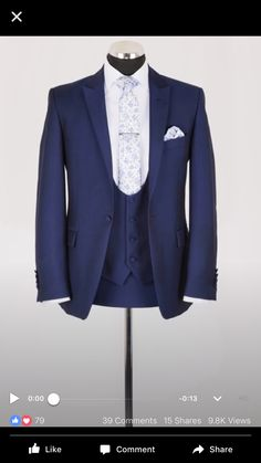 Omg I love this! Tom would look so dapper in this..
