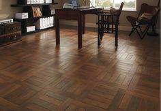 Find out what the best type of luxury vinyl plank flooring is, and why it stands out from lower quality plank vinyl.