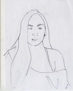 Mon portrait en un trait