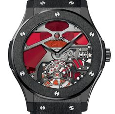 VITRAIL Classic Fusion Tourbillon Vitrail A new technology for an ancestral art. 100% Swiss Made It is the very principle of fusion, so dear to Hublot: Hublot connects the past with the future and connects respect for tradition with a 21st-century creative vision (Video) (See more at En/Fr/Es: http://watchmobile7.com/articles/hublot-classic-fusion-tourbillon-vitrail) #watches #montres #relojes #hublot @Hublot Watches