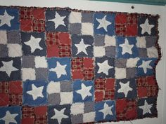 Texas quilt as you go.  Fun to make.  I made this for my mother in law