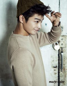 Seo In Guk - Marie Claire Magazine September Issue '14