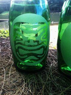 You can buy this new listing on URCrafti! Tiki Glass