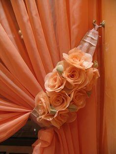 Ideia muito legal  розы из ткани мастер класс