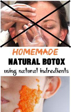 Botox? Homemade NATURAL BOTOX with natural indredients