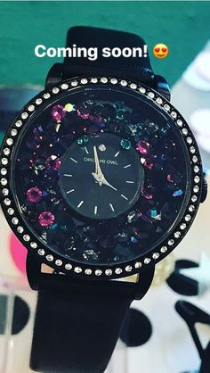 Origami Owl launches a black locket watch this Fall- 2017! Ahmazing arm bling! #watches #jewelry