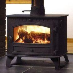 Hunter Herald 14 Double Sided/Single Depth Wood Burning Stove