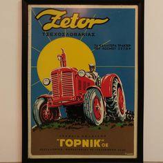 Advertising Signs, Vintage Advertisements, Ads, Tractor Attachments, Vintage Tractors, Tin Signs, Booth Design, Retro, Ebay