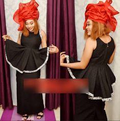 Élisa de la série à succès «un Café avec» en mode shooting pour mettre en valeur la culture Sénégalaise. African Print Clothing, African Print Fashion, Tribal Fashion, Africa Fashion, African Attire, African Wear, African Women, African Dress, Fat Fashion