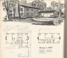 These are beautiful homes with an Old West History Vintage house plans! Click on the photos to enlarge. These house plans are from Home Planners 1 1/2 and Two Story Designs 1976. Shop for …