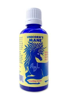 Unicorn's Mane Smoothing Serum by A Beautiful Life™ is an award-winning, naturally-derived hair serum that features argan oil, gooseberry, and pomegranate extract to tame frizz, add shine, and nourish the hair.  Gently scented with the cult-fave I Heart Unicorns fragrance.