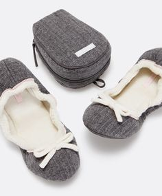 Ballerina slipper travel set - OYSHO