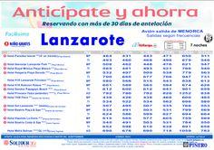 Anticipate y ahorra. Hoteles en Lanzarote salidas desde Menorca - http://zocotours.com/anticipate-y-ahorra-hoteles-en-lanzarote-salidas-desde-menorca/