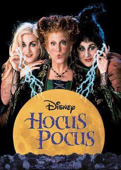 Hocus Pocus  - Movies - to watch over Halloween